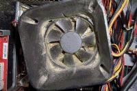 Verschmutzer Ventilator